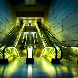 Download Escalators HD Wallpaper