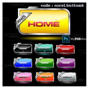 دانلود رایگان دکمه های وب فانتزی corel.button2