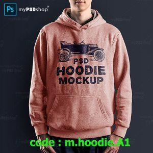 موکاپ سویشرت کلاهدار یا هودی m.hoodie.A1