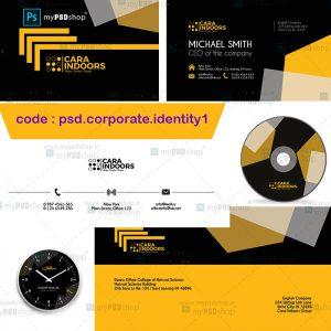 دانلود فایل لایه باز هویت سازمانی psd.corporate.identity1