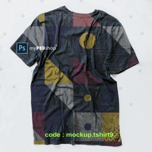 دانلود رایگان موکاپ تیشرت mockup.tshirt9