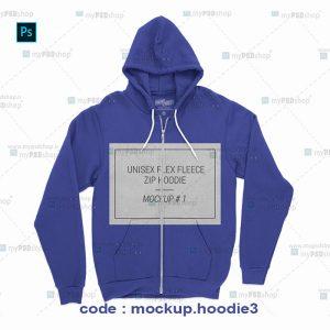دانلود موکاپ سویشرت کلاهدار یا هودی mockup.hoodie3