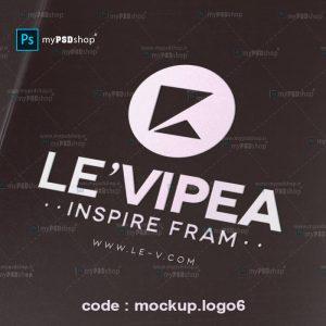 دانلود رایگان موکاپ لوگو روی مقوا mockup.logo6
