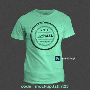 دانلود رایگان موکاپ تیشرت پسرانه mockup.tshirt23